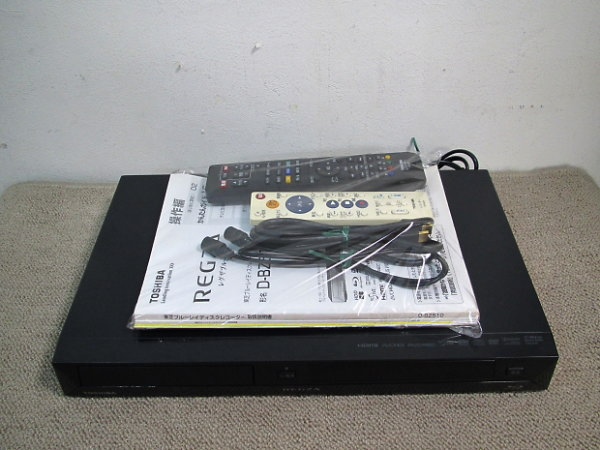 買取商品のブルーレイレコーダー