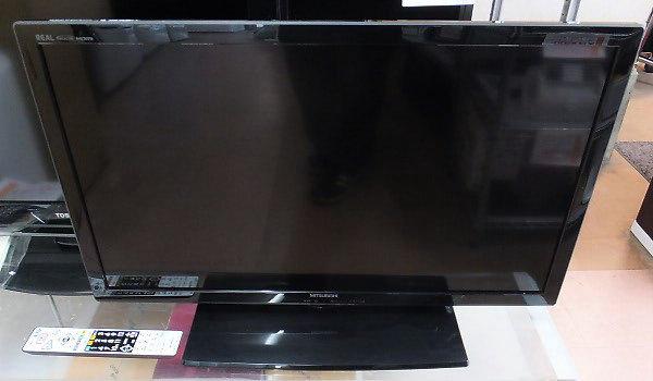 買取商品の三菱液晶テレビ