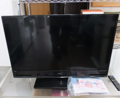 ブルーレイレコーダー内蔵液晶テレビの買取