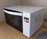 「ハイアール フラット庫内 単機能レンジ JM-FH18D」を大阪府八尾市で買取(8月30日)