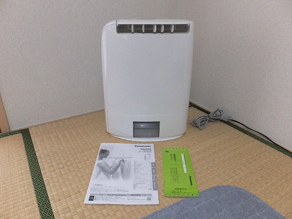Panasonic衣類乾燥除湿機を買取