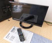 「シャープ 19V型液晶テレビ アクオス 19K30」を大阪府高槻市で買取(10月6日)