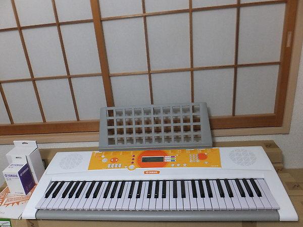 ヤマハ電子キーボード EZ-J210を買取