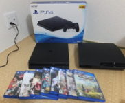 「SONY PS4本体 CUH-2100A B01 Jet Black 500GB プレイステーション4」を大阪市天王寺区で買取(11月1日)