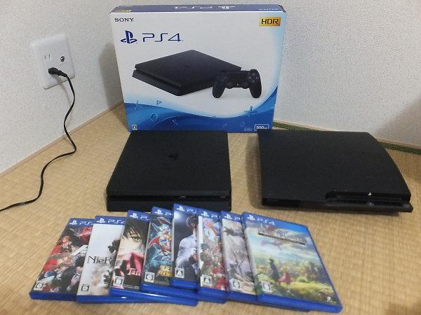 SONY PS4 CUH-2100A B01を買取