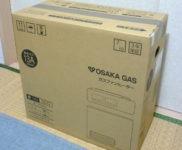 「大阪ガス 都市ガス13A用 ガスファンヒーター 140-5872 新品」を大阪市東淀川区で買取(11月18日)