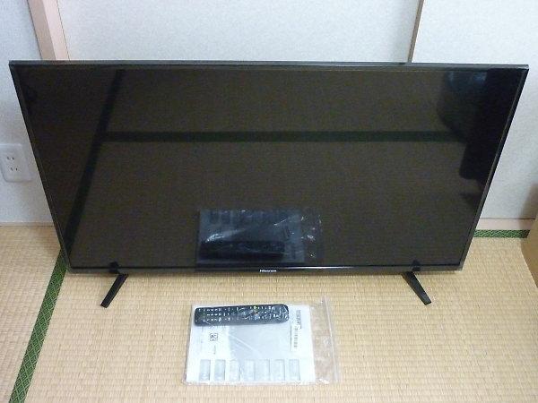 ハイセンス LED液晶テレビ 43A50を買取