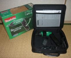 マキタ充電式ドライバ MDF001DWを買取