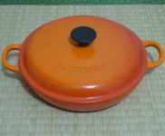 「Le Creuset(ル・クルーゼ) 22cm 浅型両手鍋」を大阪府茨木市で買取(3月4日)