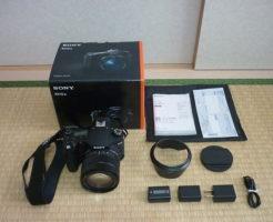 デジカメDSC-RX10M3を買取