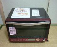 「シャープ 過熱水蒸気オーブンレンジ RE-SS10B-R」を大阪府吹田市で買取(3月26日)