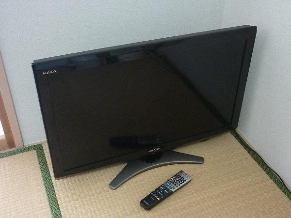 液晶テレビ アクオス LC-32E8を買取