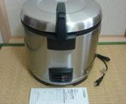 「TIGER タイガー 業務用 2升炊き炊飯器 JNO-A360」を大阪市北区で買取(4月9日)
