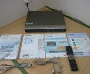 「シャープ DVD/HDDレコーダー SHARP AQUOSレコーダー DV-AC82」を大阪府守口市で買取(4月17日)
