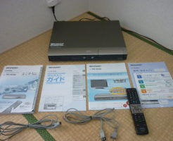 DVDレコーダーDV-AC82を買取