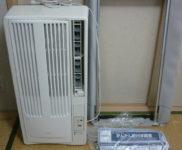 「KOIZUMI コイズミ ウインド形ルームエアコン KAW-1682」を大阪市中央区で買取(6月10日)