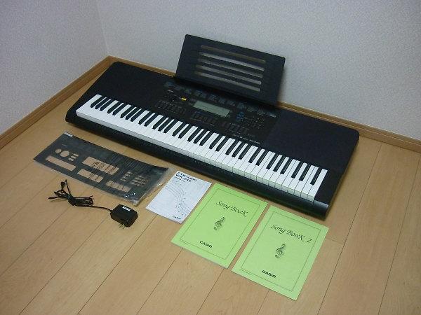 カシオ キーボードWK-245を買取
