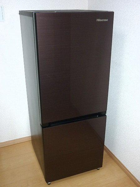 ハイセンス冷蔵庫HR-G1501を買取