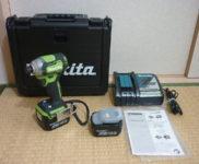 「マキタ makita 14.4V 6.0Ah 充電式インパクトドライバー TD160DRGXL」を大阪府守口市で買取(7月14日)