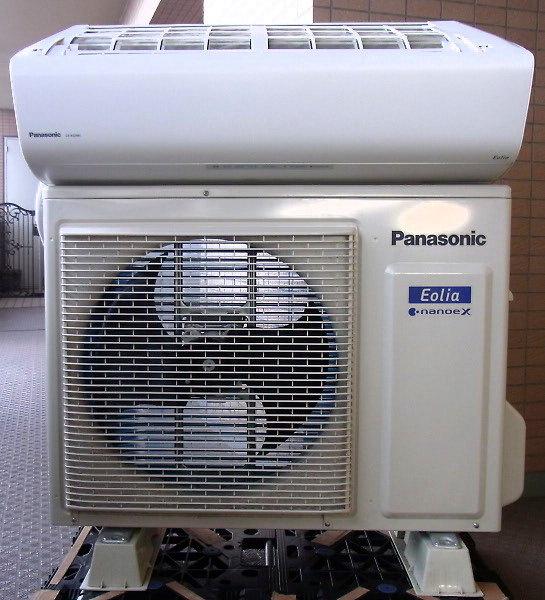 PanasonicエアコンCS-XS258C-Wを買取
