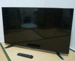 GANPLE 40型液晶テレビを買取