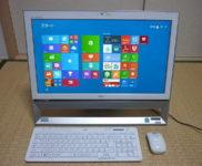「NEC 一体型PC VALUESTAR S PC-VS350TSW」を大阪府茨木市で買取(9月7日)