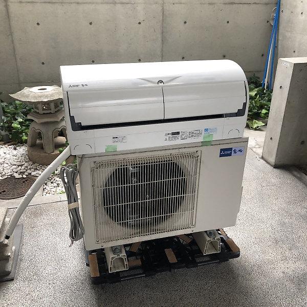 三菱エアコンMSZ-X4017S-Wを買取