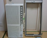 「コロナ 冷房暖房兼用 窓用エアコン CORONA CWH-A1814」を大阪府高槻市で買取(9月29日)