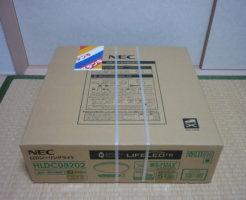 NECシーリングライトHLDC08202を買取