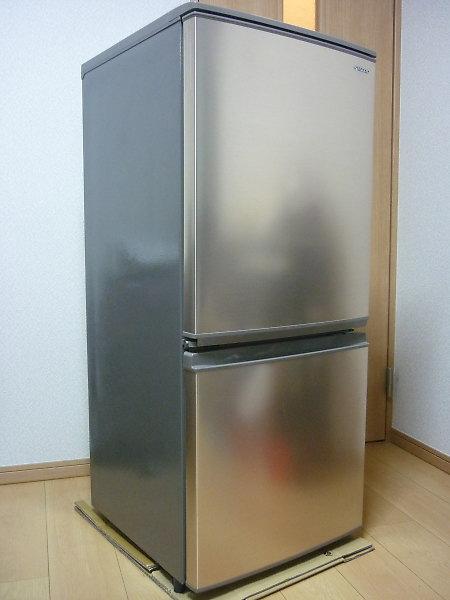 シャープ2ドア冷蔵庫SJ-D14E-Nを買取