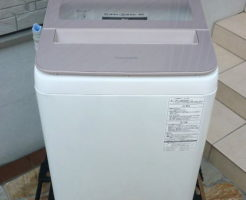 Panasonic洗濯機NA-FA70H5を買取