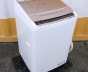 「日立 8.0kg 全自動洗濯機 ビートウォッシュ BW-V80C」を大阪市東淀川区で買取(5月19日)