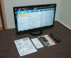 液晶テレビLC-24K30を買取
