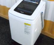 「Panasonic 縦型洗濯乾燥機 洗濯8kg/乾燥4.5kg NA-FW80S1」を大阪府守口市で買取(9月12日)