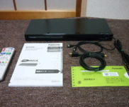 「パナソニック ブルーレイディスクレコーダー ディーガ DMR-BRS520」を大阪府東大阪市で買取(9月19日)