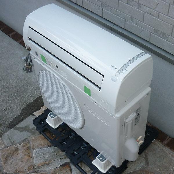 コロナ エアコン CSH-N2818R-Wを買取