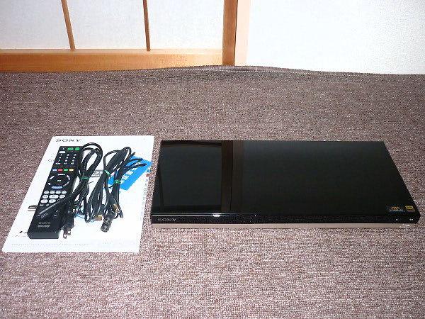 SONYブルーレイレコーダーBDZ-ZW1500を買取