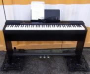 「CASIO カシオ 88鍵 電子ピアノ Privia PX-150 BK スタンド付き」を大阪市北区で買取(11月26日)
