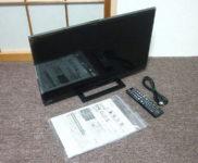 「東芝 24V型 液晶テレビ REGZA(レグザ) 24S22」を大阪府門真市で買取(12月2日)
