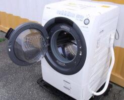 ドラム洗濯機 ES-S7C-WLを買取