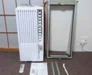 「ハイアール 窓用エアコン 冷房専用 Haier JA-16T-W」を大阪市北区で買取(5月13日)
