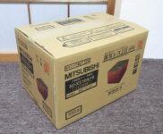 「三菱電機 蒸気レス IH炊飯器 NJ-XS104J-R ルビーレッド」を大阪府守口市で買取(7月17日)