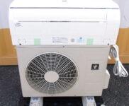 「シャープ 高濃度プラズマクラスター25000搭載エアコン 主に10畳用 AY-G28H-W」を大阪市中央区で買取(9月1日)